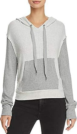 XL Black Splendid Womens Zip Up Hoodie Sweater