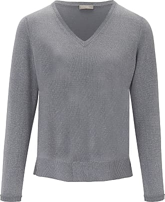 include V-neck jumper include grey