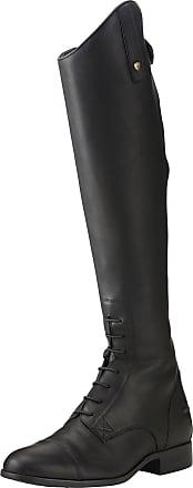Ariat Mens Heritage Compass Waterproof Shoes in Black, D Medium Width, Short Height, Regular Calf, Size 10.5, by Ariat