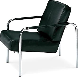 ZANOTTA Design Susanna Armchair Chrome Frame & Leather
