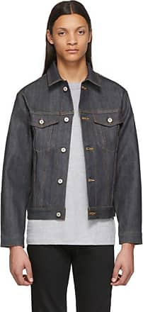 Naked /& Famous Denim Mens Left Hand Twill Selvedge Denim Jacket