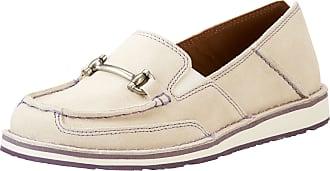 Ariat Womens Bit Cruiser Shoes in Sand, B Medium Width, Size 7.5, by Ariat