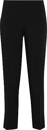 Philosophy di Lorenzo Serafini Philosophy Di Lorenzo Serafini Woman Cropped Crepe Slim-leg Pants Black Size 46