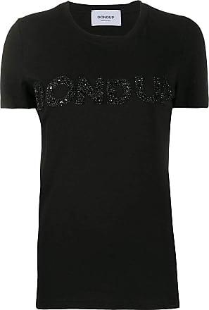 Dondup Fashion Woman S007JS0241DZE2999 Black Cotton T-Shirt | Spring Summer 20