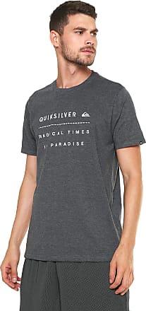 0bd3e16575 Quiksilver Camiseta Quiksilver Radin Cinza