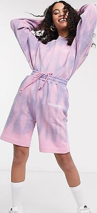 Collusion Oversize-Shorts mit Batikmuster-Mehrfarbig