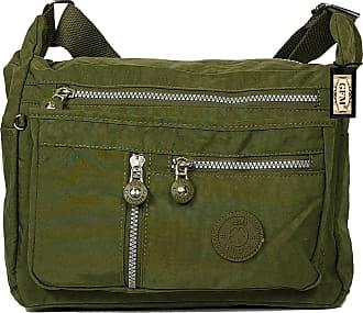 GFM Womens Nylon Cross Body Shoulder Bag (JY)(S4-8025-HR)