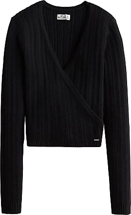 Hollister Pullover TIE BACK WRAP SWEATER schwarz