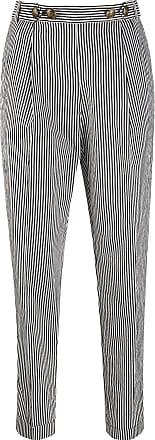 Philosophy di Lorenzo Serafini striped straight-leg trousers - Black