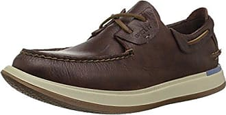 Sperry Top-Sider Mens Caspian Boat Leather Shoe, Cocoa, 11 M US