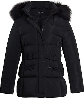Age 3 to 16 Years SS7 Girls Fleece Lined Padded Parka Coat