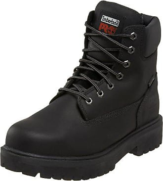 Timberland PRO Mens 26038 Direct Attach 6 Steel Toe Boot,Black,10.5 W