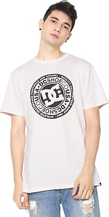 DC Camiseta DC Shoes Circle Star Rosa