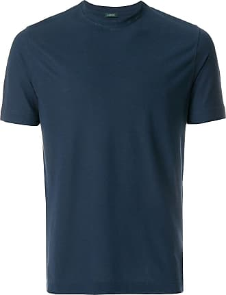 Zanone short sleeved T-shirt - Blue