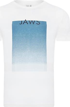 Foxton T-SHIRT MASCULINA JAWS TYPE - OFF WHITE