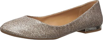 Jessica Simpson Womens Ginly Ballet Flat, Gold, 5 UK