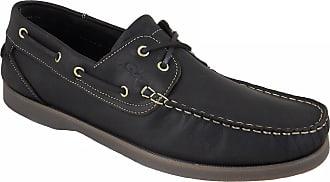 Quayside Ladies Torbay Quality Deck Shoes Dark Brown UK 3.5/EU 36