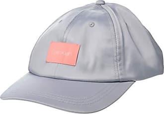 649466d1b Calvin Klein Womens Satin Baseball Hat, Grey, One Size