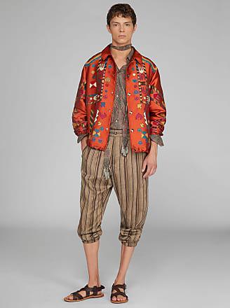 Etro Jacquard Jacket, Man, Orange, Size S