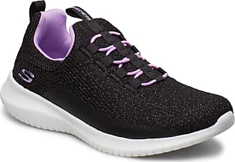 Skechers Girls Ultra Flex Sneakers Skor Svart Skechers