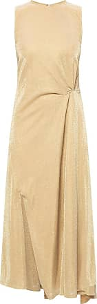 Lanvin Shimmering Dress Womens Gold