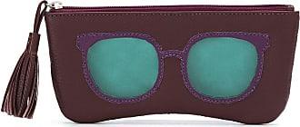 Sarah Chofakian glasses case - Di colore rosso