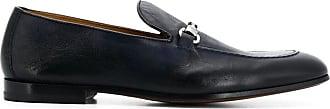 Doucal's Loafer mit Stegverzierung - Blau