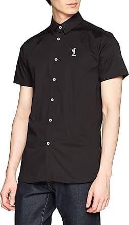 Religion Mens Magnitude Shirt Casual, Black (Black 001), Medium