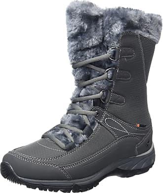 Hi-Tec EQUILIBRIO ST BIJOU MID 200 I WATERPROOF, Womens High Rise Hiking, Grey (CHARCOAL), 7 UK (40 EU)