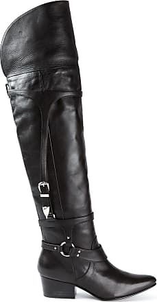 Toga Archives thigh high boots - Preto