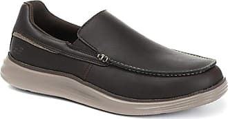 Skechers Camda-Marces Leather Slip-On Casual Shoe 315 858 - Chocolate Size 8 (42)