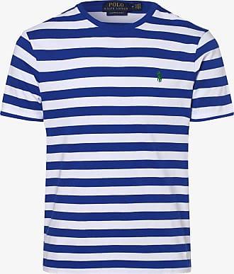 Polo Ralph Lauren Herren T-Shirt - Custom Slim Fit blau