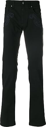 Versace Collection slim fit denim jeans - Black