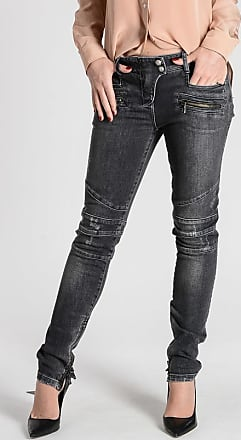 Balmain Stretch Cotton Jeans 13 cm size 38
