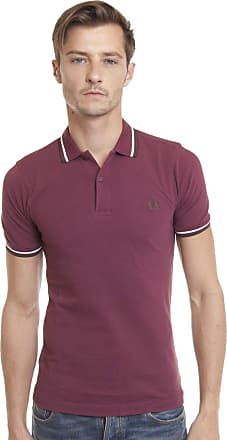 Fred Perry Mens M3600 Polo Shirt, Rosso Oporto, M