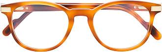 Cartier Armação de óculos C Décor - Laranja