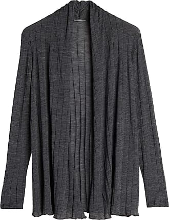 intimissimi Womens Wool and Silk Ribbed Cardigan