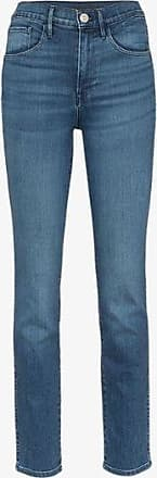 3x1 Womens Blue W3 Authentic Skinny Jeans
