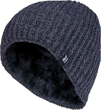 Heat Holders Mens Genuine - HEAT HOLDERS Heatweaver Hats - BRAND NEW DESIGNS (Navy - HALDEN)