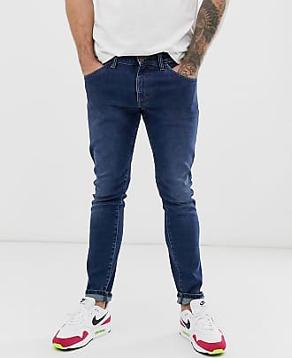Wrangler Bryson - Jeans skinny blu
