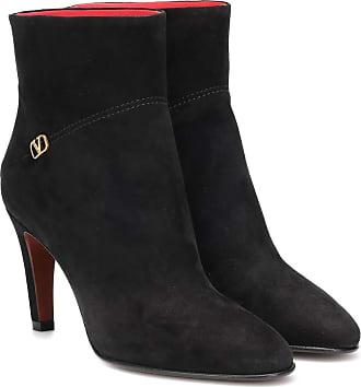Valentino Garavani VLOGO suede ankle boots