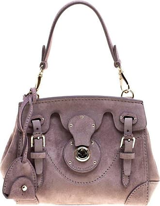 e8daed53a80f Ralph Lauren Lilac Suede Ricky Crossbody Bag