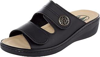 Franken Schuhe Muiltje Franken Schuhe Zwart