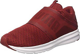 Puma Enzo Strap Mesh, Chaussures de Cross Homme, Rouge (Red Dahlia Black) 6753d1ec41f6