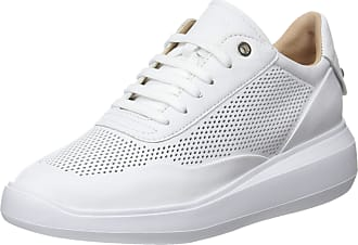 decb6bba1f6 Geox Womens D Rubidia A Low-Top Sneakers, White (White C1000),