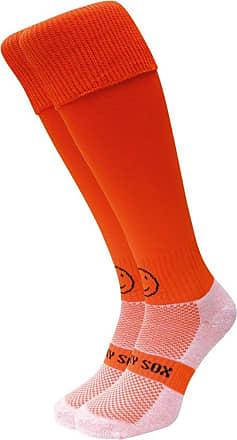 Wackysox Bright Orange Sports Socks