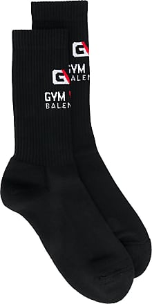 Balenciaga Gym logo socks - Black