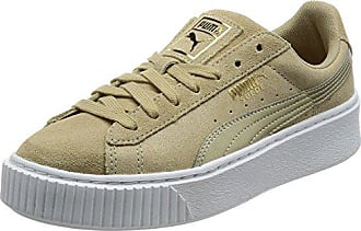 Puma Damen Sneaker Suede Platform Metallic Safari Sand (21) 38,5 b2b4a80224