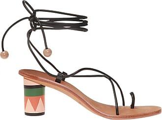 Ulla Johnson Kaya Heeled Sandals Womens Black