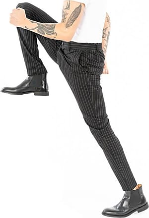 Only & Sons Performance Pants - Black/White Stripes